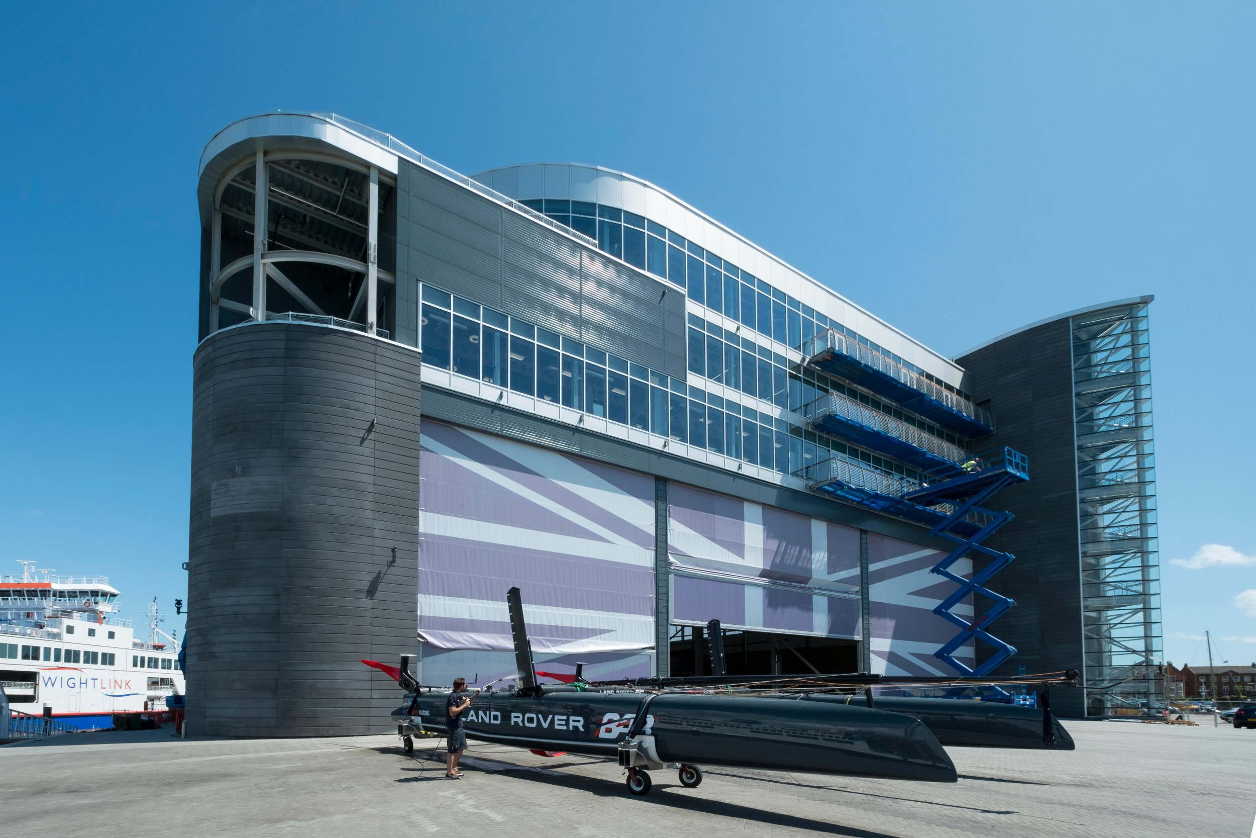 Sailing Centre features Metalline